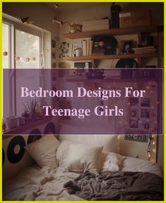 Get Set for Teen Bedroom Ideas. Develop research study space and gaming zones with these teen space concepts. #homeinspo #Bedroom Designs For Teenage ... Bedroom Bed, Teen Bedroom, Dream Bedroom, Teen Bedding Sets, Teen Girl Bedding, Bedroom Designs, Bedroom Ideas, Teenage Girl Bedrooms, Study Space