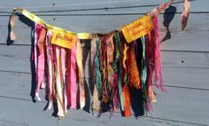 the prayer flag project | ever since pinning these to my prayer flag board on pinterest i have ...