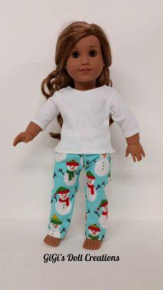 Lovely handmade fleece pajama set for 28 inch Barbie Barbie Pjs Dolls night wear Doll clothes