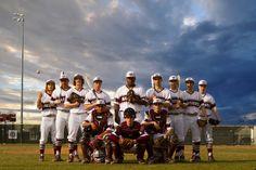 Michelle Coombs Photography ~ Baseball Team ~ Wildwood High School ~ Warriors ~ Stormy Sky ~ Sports Photography ~ @wildwoodsnj