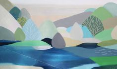 Featuring work by Belynda Henry - Open Space II available at Anthea Polson Art on the Gold Coast Australia, specialising in contemporary Australian art and sculpture
