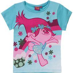 Das TROLLS T-Shirt für Mädchen zeigt sich mit wunderschönem Frontprint und besteht aus reiner Baumwolle. <br /> <br /> - mit Rundhalsausschnitt <br /> <br /> Material: 100% Baumwolle<br /> <br /> ---Pflegehinweise---<br /> - Schonwäsche bei 30°, von links <br /> - nicht bleichen <br /> - bei niedriger Temperatur bügeln, von links <br /> - nicht chemisch reinigen <br /> - ni...