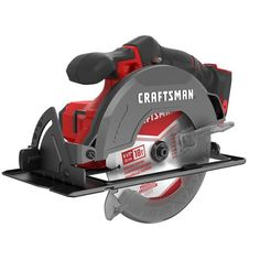 CRAFTSMAN 20-Volt MAX 6 1/2-in Cordless Circular Saw (Tool Only) | Lowe's Canada Craftsman Power Tools, Cordless Reciprocating Saw, Rip Cut, Cordless Power Tools, Saw Tool, V Max, Hex Wrench, Cordless Circular Saw, Sub Brands