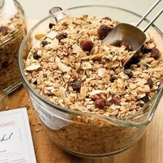 Maple-Nut Granola~!!!