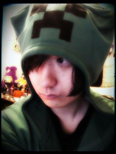 Machigerita in a Minecraft hat. You're welcome.