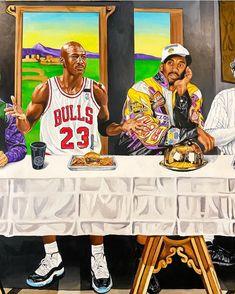 Michael Jordan Art, Black Mamba, Chicago Bulls, Kobe Bryant, Jordan Retro, Nba, Air Jordans, Baseball Cards, Photo And Video