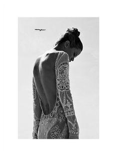 Carolyn Murphy by Koray Birand in Harper's Bazaar Turkey April