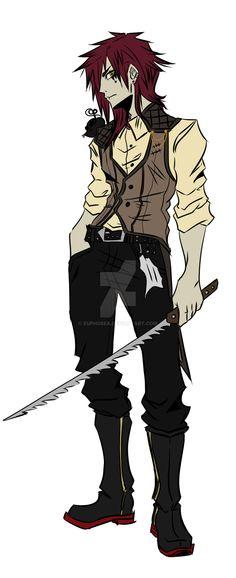 BOB Character: Jason the Toymaker by Euphobea