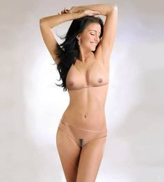 Pixel nude bathing suit. WTF.
