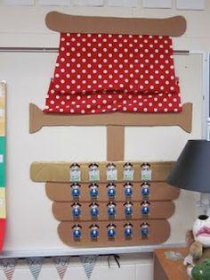 Several Pirate Theme Classroom Decoration Idea