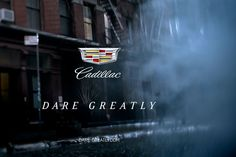 """Great example of a well done campaign at last night's Oscars. The """"Dare Greatly"""" Cadillac campaign. Integrated Marketing Communications, Daring Greatly, Dares, Economics, Cadillac, Campaign, Politics, Product Launch, Life"""