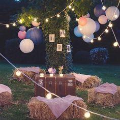Les plus belles id es d co pour un mariage champ tre - Rustic Wedding Signs, French Wedding, Wedding Vintage, Luau, Wedding Planning, Wedding Day, Chic Wedding, Wedding Bride, Wedding Decorations