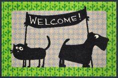 Fußmatte Friedegunde  Friedegunde und Herr Alfons - a new Design from Cat's on appletree. Now in our Shop!
