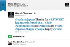 #OneDirection Endorsement