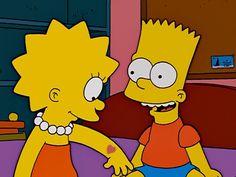 Bart And Lisa Simpson, Wallpaper Iphone Disney, Cartoon Pics, Pyrography, Sad, Wallpapers, Tattoos, Memes, Fictional Characters