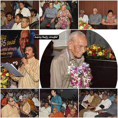Edwin Ariyadasa 95th Birthday Abhinandana Celebration