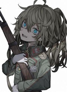 Girls Characters, Anime Characters, Guerra Anime, Tanya Degurechaff, Anime Crying, Tanya The Evil, Sad Comics, Anime Military, Pretty Anime Girl