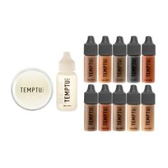 Tattoo Coverage, Alcohol-Based Makeup Kit in Dark | TEMPTU PRO