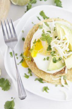 Breakfast Tostada from @Paula - bell'alimento #breakfast http://pinterest.com/ahaishopping/