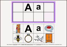 Informática para Educación Especial: Abecedario con pictogramas de ARASAAC.