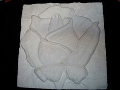 Inspiration.. styrofoam rose carving