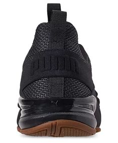 Puma Men's Axelion Running Sneakers from Finish Line - Black 13 Sock Shoes, Shoes Heels Boots, Heeled Boots, Shoes Men, Running Sneakers, Running Shoes, Puma Mens, Girls Shoes, All Black Sneakers