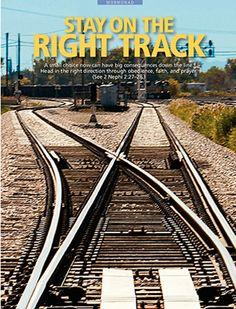 Bleib auf dem richtigen Weg. Wie kommst du zu der Entscheidung, ob etwas recht oder unrecht ist?