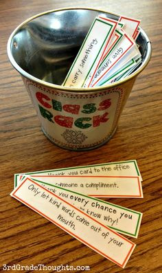 Acts of kindness for kids to do, it's for 3rd graders, but can be simplified for preschoolers!
