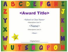 Certificate template for kids free certificate templates image result for certificate template for kids yadclub Image collections