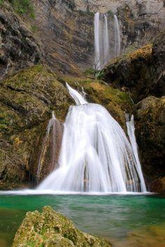 Cascada, Nacimiento del Río Mundo, España