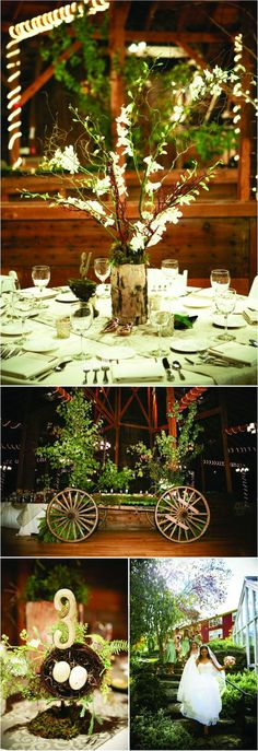 Tall center pieces
