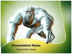 Yeti Powerpoint Template is one of the best PowerPoint templates by EditableTemplates.com. #EditableTemplates #PowerPoint #Mammoth #Snow Animal #Yeti #Cryptid #Halloween #Mystic #Troll #Gorilla  #Bigfoot #Snowman #Giant #Snow #Ogre #Bipedal #Fantasy #Creature #Animal #Terrorize