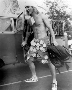 Sean Penn rocks his checkerboard slip ons in 1982's Fast Times at Ridgemont High. via msn.com. DAZED, June 2015. Three cult Vans collabs you never knew existed [online]. Available at http://www.dazeddigital.com/fashion/article/25024/1/three-cult-vans-collabs-you-never-knew-existed [accessed 09/11/15]
