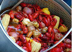 Louisiana crawfish boil