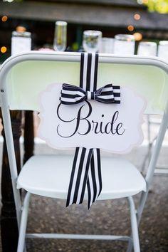 <3 #bride #chair #deco