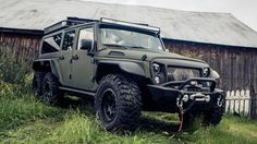 A small Chinese company has created a 6x6 variant of the Jeep Wrangler.