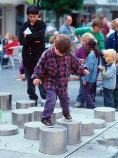 Architectural Playground Equipment: Public playgrounds
