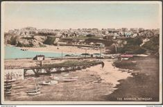 The Harbour, Newquay, Cornwall, c.1940 - Postcard