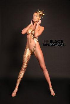 Девушки и изолента, популярный проект The Black Tape (Черная лента) (70 фото)