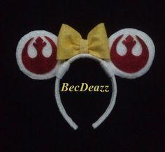 Star Wars Minnie Mouse ears headband on Etsy, $25.00