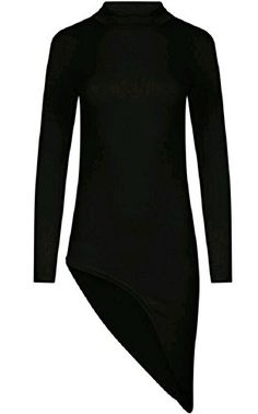 Home of Fashion Polo Neck Asymmetric Curved Hem Mini Bodycon Dress (8, Black) The Home of Fashion http://www.amazon.co.uk/dp/B01A7MXC0U/ref=cm_sw_r_pi_dp_UdKJwb01PAWJH