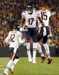 Bears Packers Football Brandon Marshall
