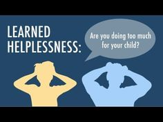 Natalie Allen. Pin 1. 230-002. This article is about Learned Helplessness in children. I thought it related well to the chapter because it talks about it in the book a lot. This article has a good spin because it questions as a parent, how much is enough help? which is a good spin on it.