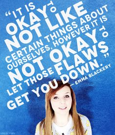 Emma Blackery quote from feel good 101