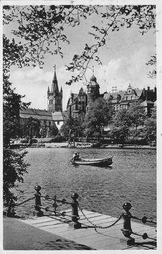 Schlossteich Königsberg - Königsberg (Preußen), 1912