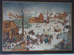 Copie of Pieter Breughel by Joris Van Elst 1978. Made for me, Agnes Van Elst, his third daughter.