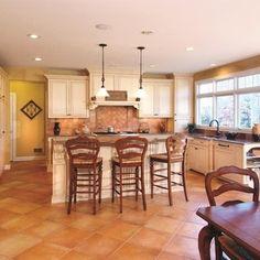 kitchen with terra cotta floor tiles | kitchen | pinterest | terra