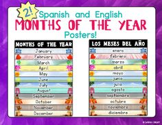 1000 images about bilingual posters on pinterest bilingual classroom the four and spanish. Black Bedroom Furniture Sets. Home Design Ideas