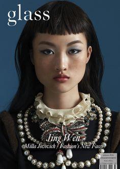 Glass Magazine - Enlightenment - Autumn 2016 (Asian Cover) featuring Jing Wen wearing Gucci Photographer Tim Wong