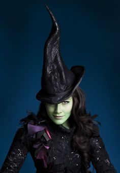Idina Menzel (Elphaba) in the original West End production. Description from pinterest.com. I searched for this on bing.com/images